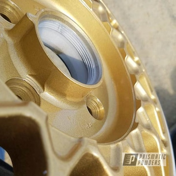 Powder Coated Gold Rockin Rims