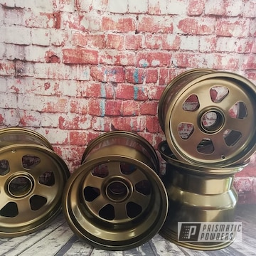 Powder Coated Bronze Magnesium Rims