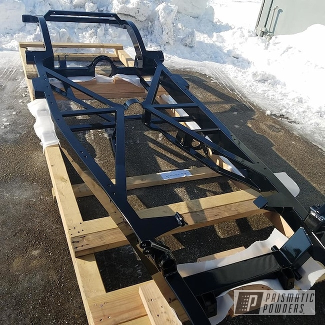 Powder Coating: Automotive,Car Frame,Custom Frame,Ink Black PSS-0106