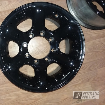 Powder Coated 16 Inch Wheels In Pps-2974 And Pss-0106