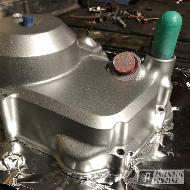 Powder Coating: BMW Silver PMB-6525,Motorcycle Parts,Motorcycles,50cc