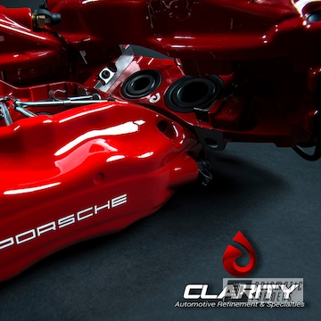 Powder Coated Red Porsche 911t Brake Calipers