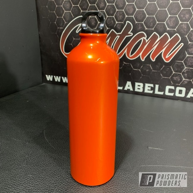 Powder Coating: Orange Pearl PMB-2674,Custom Water Bottle,Water Bottle