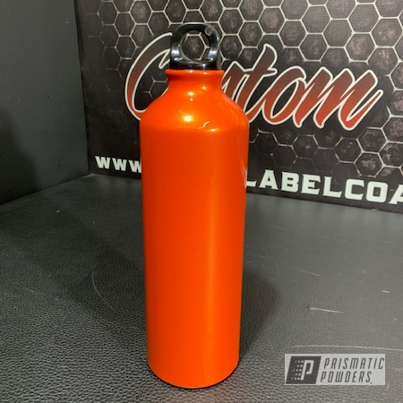 Powder Coating: Orange Pearl PMB-2674,Custom Water Bottle,Water Bottle