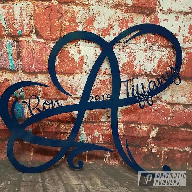 Powder Coating: wall art,Art,RAL 5003 Sapphire Blue,Miscellaneous