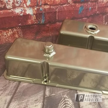 Powder Coated Chrome Valve Covers