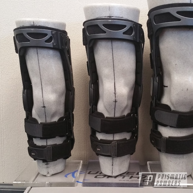 Powder Coating: Silver Cast PCB-1100,FKB,Orthopedic,Knee Brace,Miscellaneous