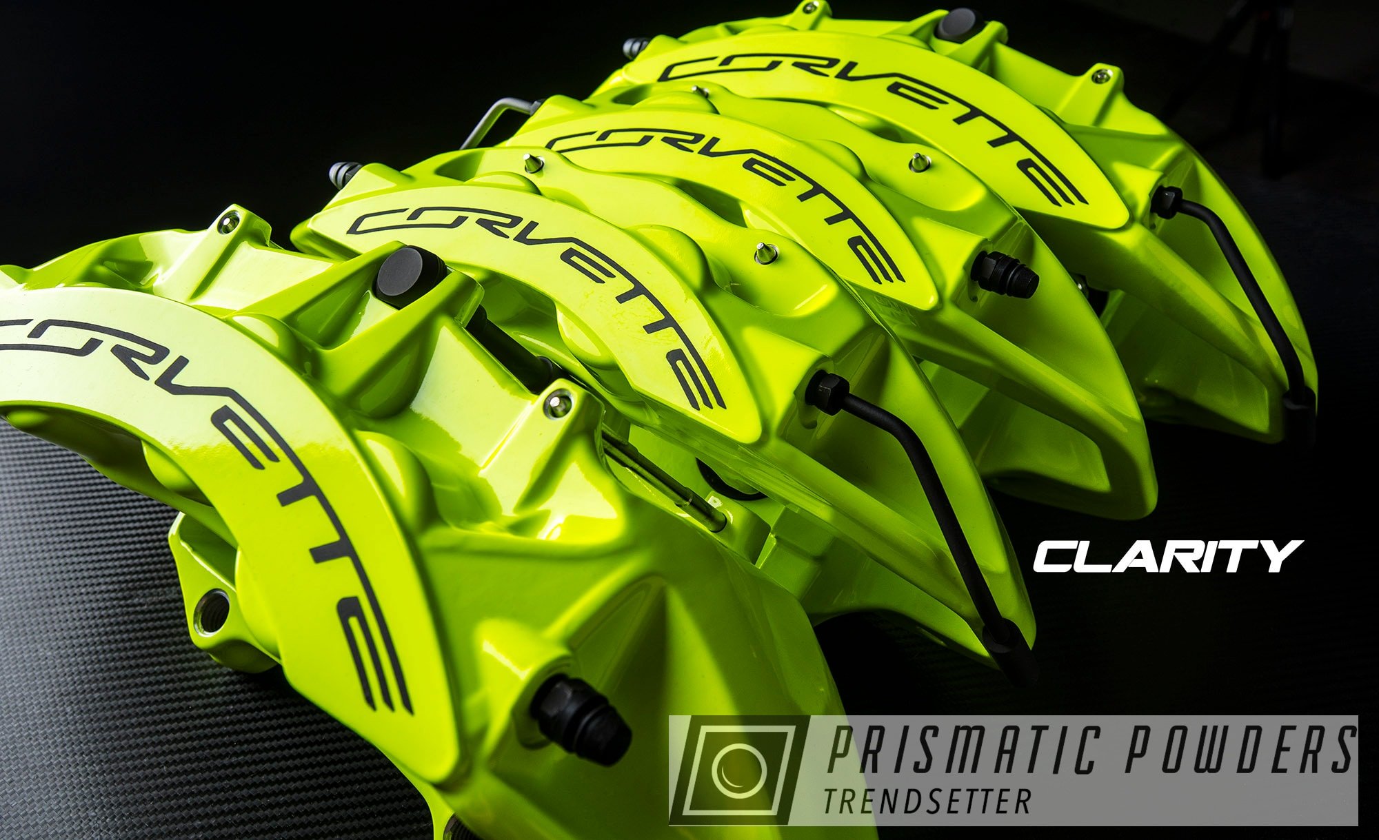 Powder Coating: Automotive,Clear Vision PPS-2974,Brakes,Chevrolet,Brembo,Brake Calipers,Neon Yellow PSS-1104,Brembo Brake Calipers,Corvette ZR1,Corvette,driveclarity