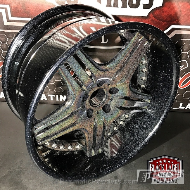 Powder Coating: Wheels,Automotive,Clear Vision PPS-2974,City Lights PMB-2689,Custom Powder Coated Wheels,Glitter Wheels