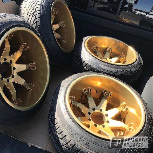 "Powder Coating: Flaming Gold PPB-4698,Wheels,Automotive,SUPER CHROME USS-4482,Aluminium Wheels,Ram 3500,22"" Wheels,Dodge,22"",Fuel Wheels"