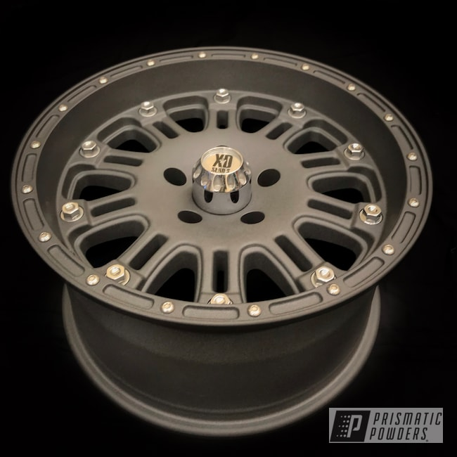 Powder Coating: Wheels,Automotive,Monster Truck,Aluminum Rims,Wrought Iron II PTB-2683,Jeep,16""