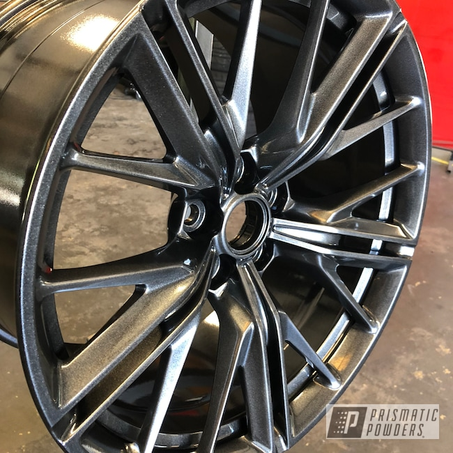 "Powder Coating: Wheels,Automotive,Chevrolet,ZL1,20"",20"" Aluminum Wheels,Cadillac Grey PMB-6377,Camaro"