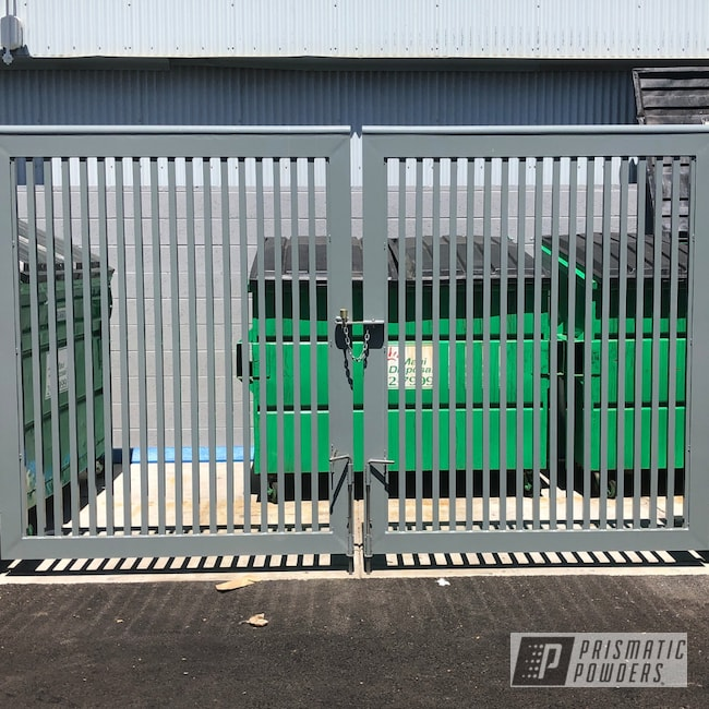 Powder Coating: Lahaina,Slated,RAL 7043 Traffic Grey B,Gates,Maui Blue PPB-5210,Entry,Shopping Mall,Commercial,Mangate,The Lahaina Cannery Mall,Miscellaneous