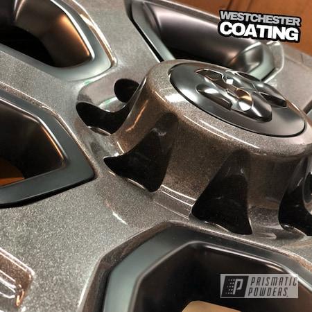 Powder Coating: Wheels,Automotive,Clear Vision PPS-2974,Monster Truck,Dodge,Kingsport Grey PMB-5027,Ram,Truck wheels,2500