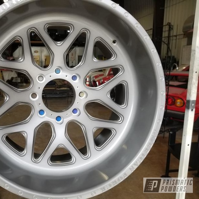 "Powder Coating: Wheels,Black Chrome II PPB-4623,Automotive,24"" Wheels,24"",American Force"