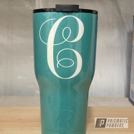 Powder Coating: RAL 6033 Mint Turquoise,Custom Cup,YETI