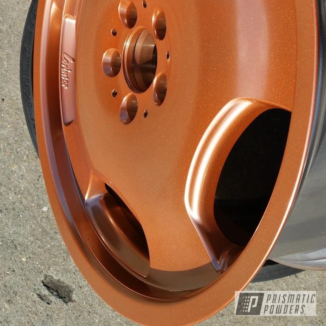 "Powder Coating: Wheels,Automotive,Penny Gold PPB-5129,20"",20"" Aluminum Wheels"