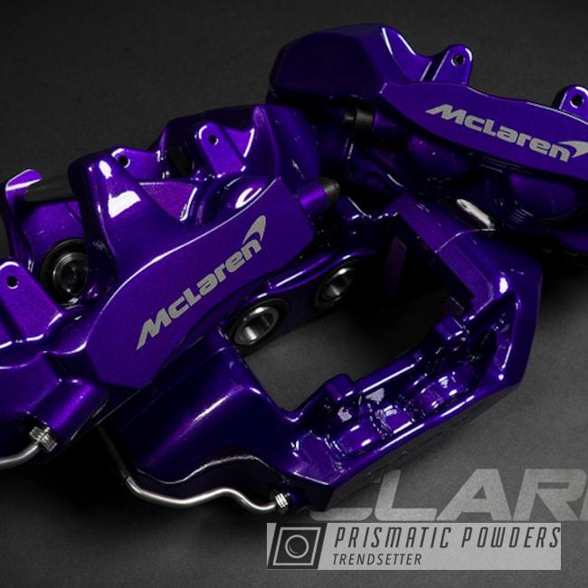 Powder Coated Candy Purple Mclaren Brembo Brake Calipers