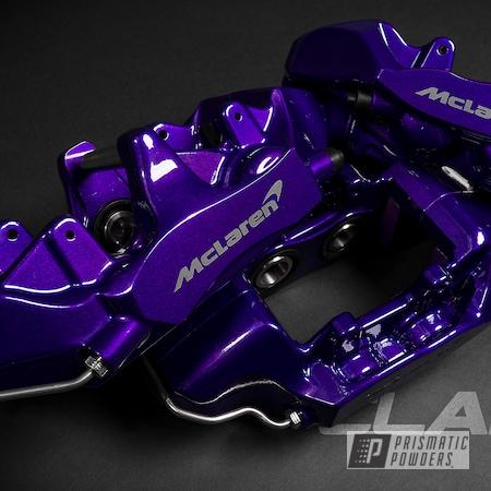 Powder Coating: Automotive,McLaren,Brakes,Brembo,Brake Calipers,720S,Alien Silver PMS-2569,Lollypop Purple PPS-1505,driveclarity