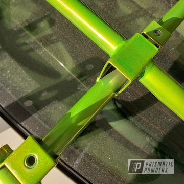 Powder Coated Green Atv Racks