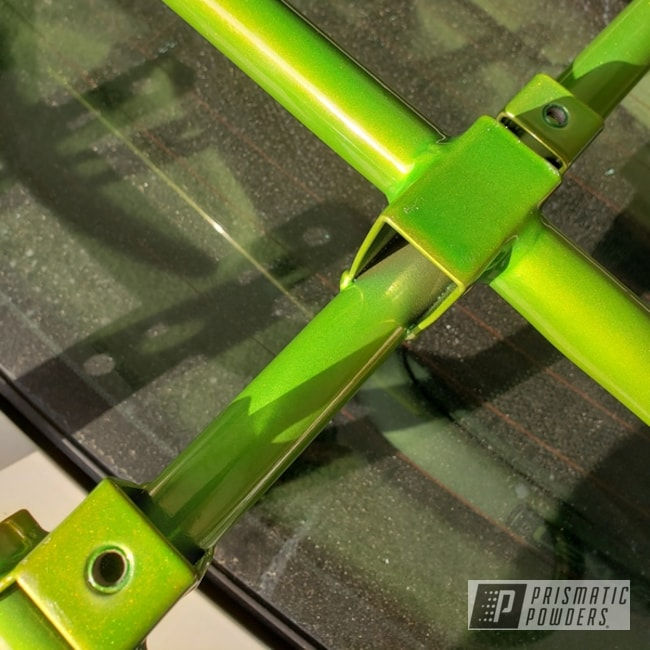 Powder Coated Green Atv Racks