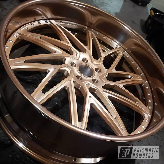 Powder Coated Copper Custom Rim