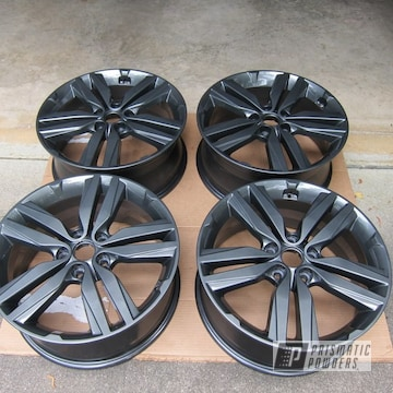 Powder Coated Grey Kia Soul Wheels