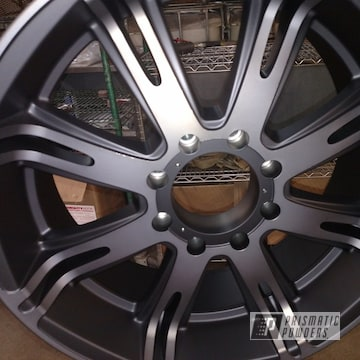 Powder Coated Black 20 Inch Wheels