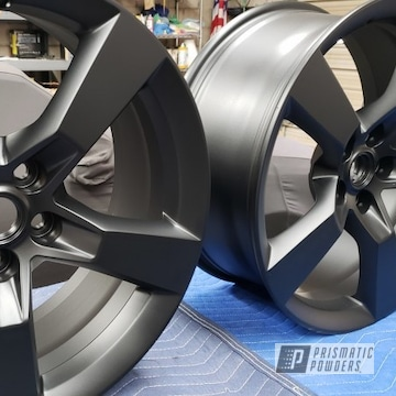 Powder Coated Black 20 Inch Chevy Camero Ss Wheels
