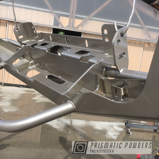Powder Coating: Automotive,Clear Vision PPS-2974,Applied Plastic Coatings,STARNIGHT SILVER PMB-5752,Bumper
