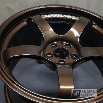 Powder Coated Toyota Gt86 Advan Wheels