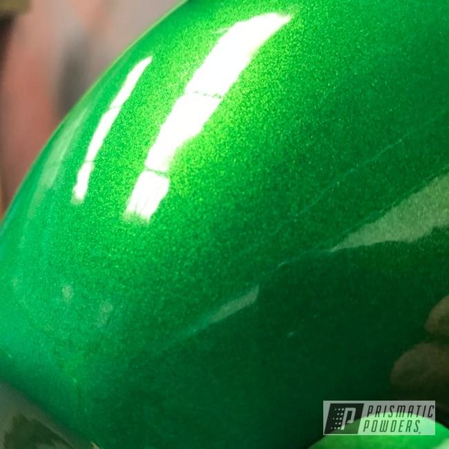 Powder Coating: Mini Bike,Clear Vision PPS-2974,Illusion Apple Sugar PMB-6915,Motorbike
