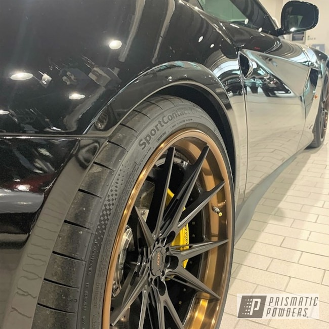 Powder Coating: Wheels,Automotive,F12 Berlinetta,ADV1,Monaco Copper PPB-4520,Ferrari,3 Piece Wheels,Continental