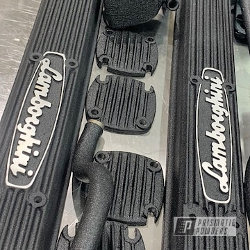 Powder Coated Lamborghini Valve Covers