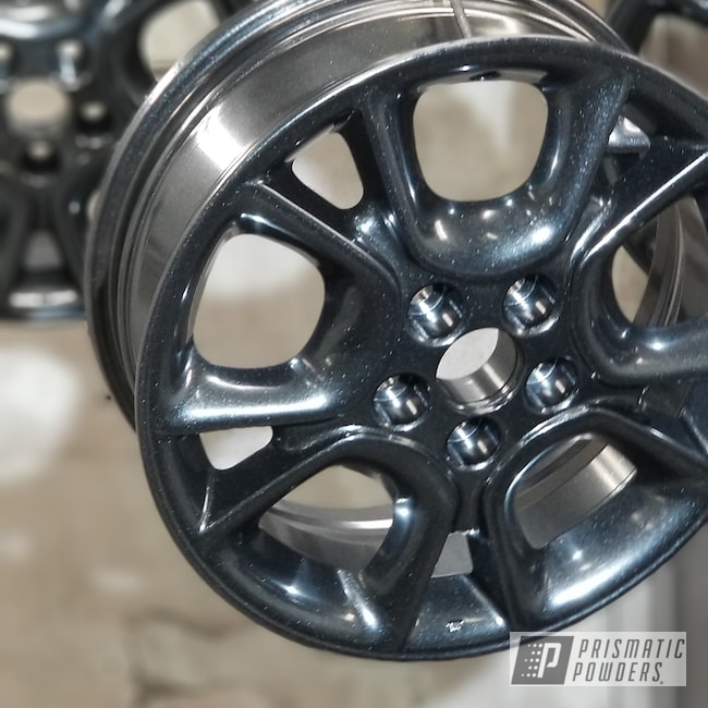 Powder Coating: Wheels,Automotive,Custom Rim,Devil Dust PMB-5865
