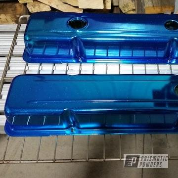 Powder Coated Chevy Corvette Valve Covers