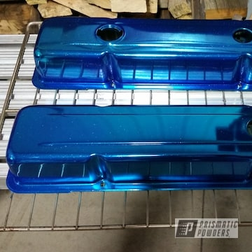 Powder Coated Chevy Corvette Valve Covers