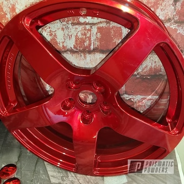 Powder Coated Aluminum Automotive Rims