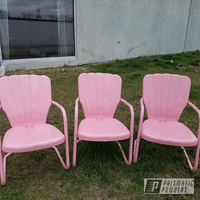 Powder Coating: Patio Furniture,Vintage Lawn Chairs,Outdoor Furniture,Lawn Chairs,RAL 3015 RAL-3015,Furniture,Retro Blue