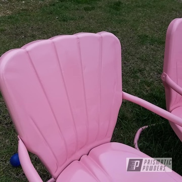 Powder Coated Vintage Lawn Chairs