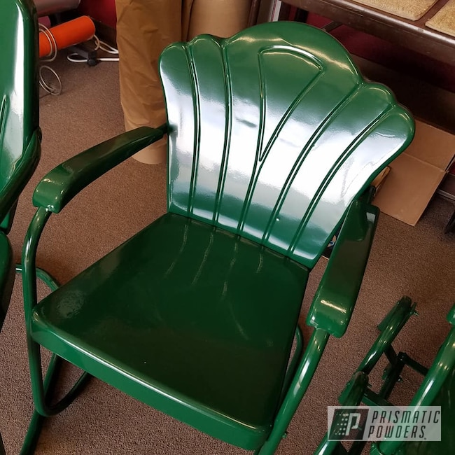 Powder Coating: Vintage Chairs,RAL 6005 RAL-6005,Lawn Chairs,Furniture