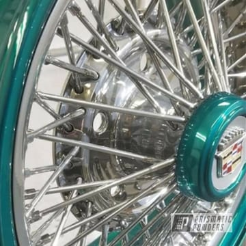 Powder Coated Cadillac Rims