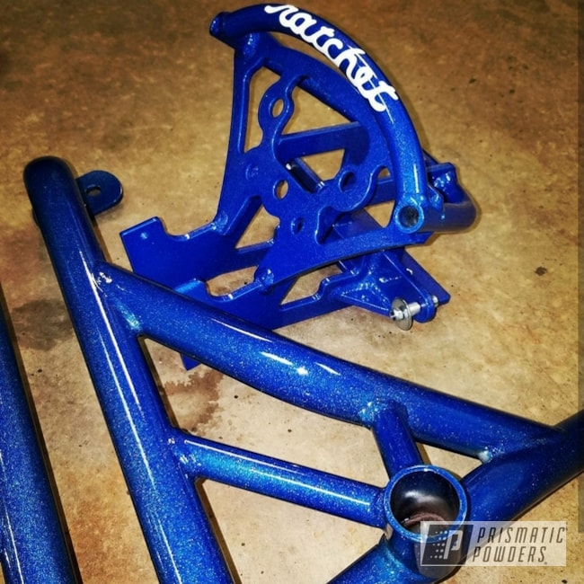 Powder Coating: #cage,Kawasaki,Blue Madness PPB-4359,Motorcycles,636