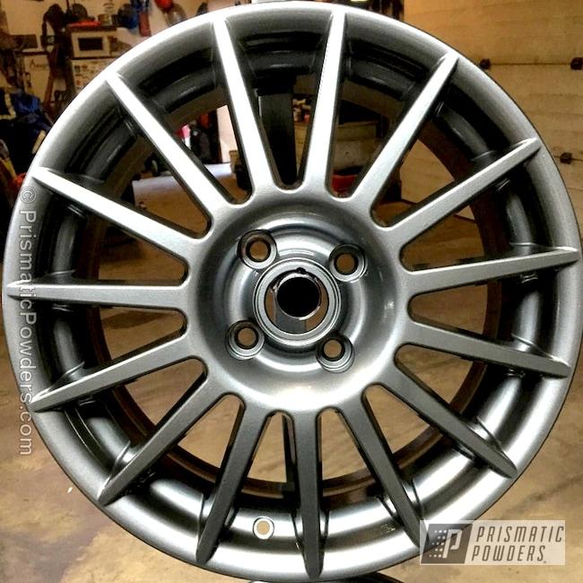 Powder Coating: Wheels,Custom Powder Coated Wheel,Automotive,chrome,ULTRA BLACK CHROME USS-5204