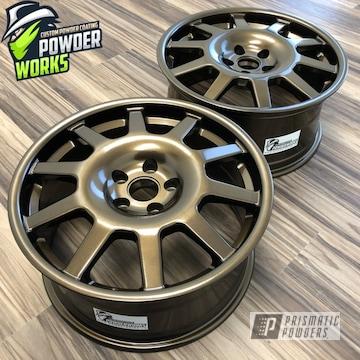 Powder Coated Car Wheels