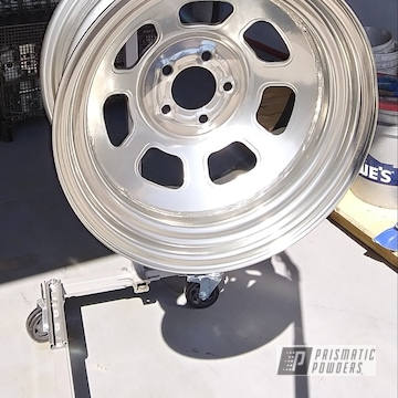 Powder Coated 15 Inch Racing Wheel
