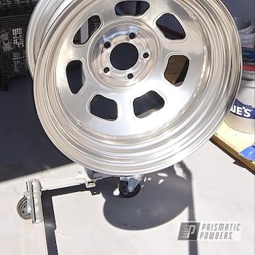 Powder Coated 15 Inch Racing Wheel