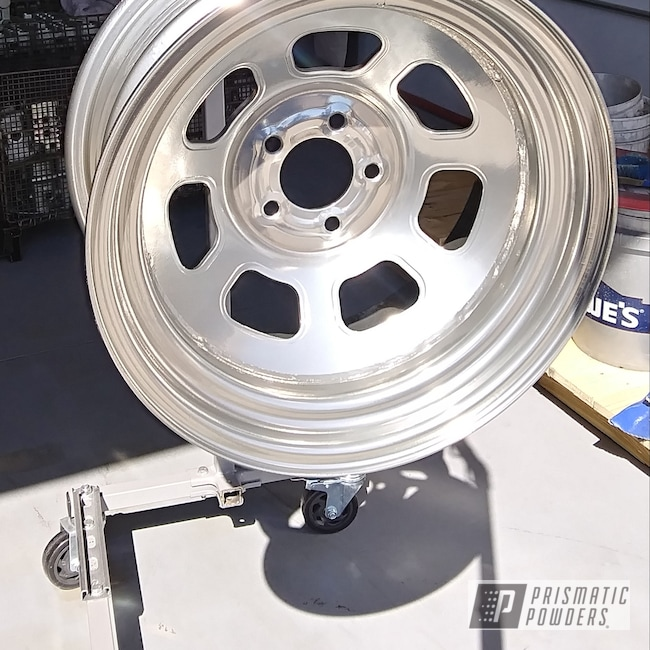 "Powder Coating: Wheels,Automotive,15"",Clear Vision PPS-2974,SUPER CHROME USS-4482,Racing Wheels"