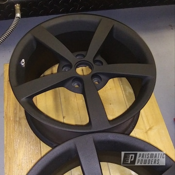 Powder Coated Corvette Wheels