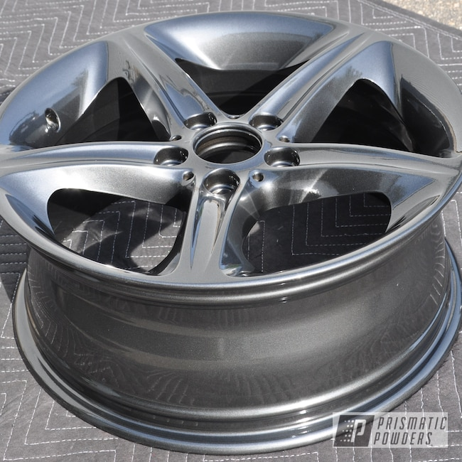 Powder Coating: Wheels,Automotive,BMW Wheels,BMW,Wet Charcoal PMB-6480